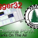 Diploma POTA (Parks On The Air) en Logger32